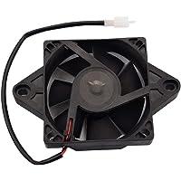 GOOFIT Ventilador Radiador 12V Moto Refrigerante Cuadrado DC