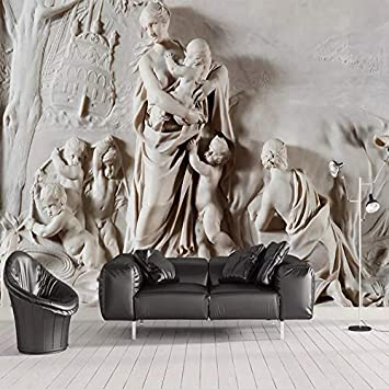 Sensational Amazon Com Custom Photo Wallpaper 3D Stereoscopic Embossed Ocoug Best Dining Table And Chair Ideas Images Ocougorg