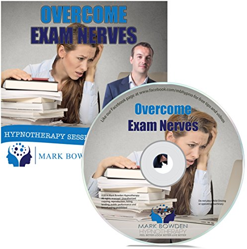 Price comparison product image Overcome Exam Nerves Self Hypnosis CD - Hypnotherapy CD to Perform Better on Tests