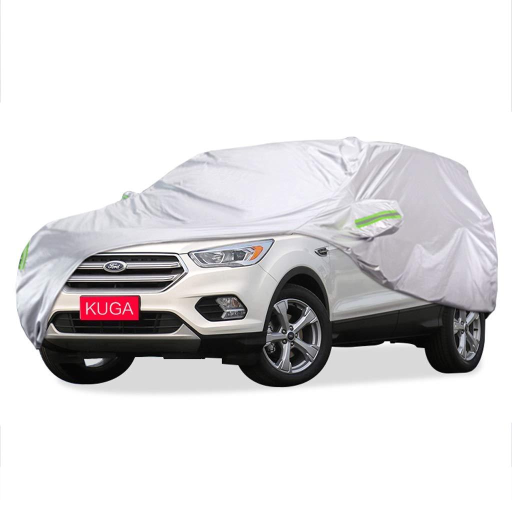 SXET-車のカバー 車のカバーダストカバーフロントガラスカバーフォードKUGA特別な車のカバー防水傷防止UV保護 (サイズ さいず : 2017 KUGA) 2017 KUGA  B07PM3NPKT