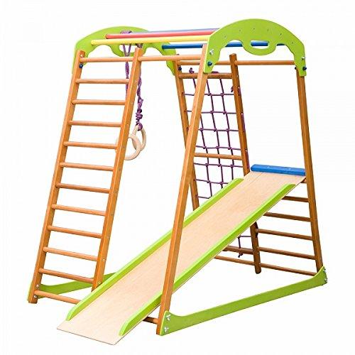 Sprossenwand Holz - Klettergerüst Indoor Holz - Klettergerüst Baby