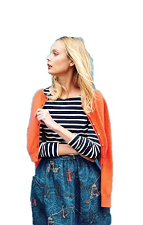 fc145c31be BODEN Long Sleeve Breton WL792 Striped Shirt Top Tee Size US 2 at ...