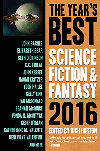 8: The Year's Best Science Fiction & Fantasy 2016 Edition (Year's Best Science Fiction and Fantasy)