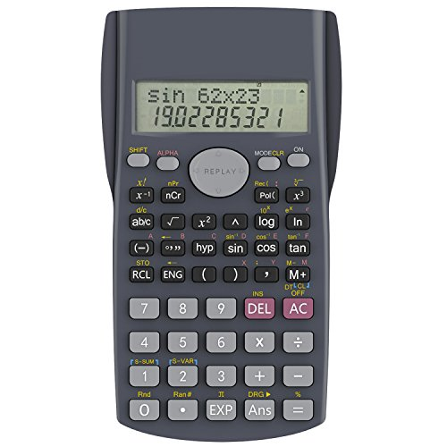 Helect H1002 2-Line Engineering Scientific Calculator (Best Non Graphing Scientific Calculator)