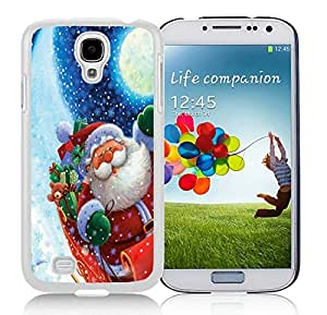 Personalize offerings Samsung S4 TPU Protective Skin Cover Santa Claus White Samsung Galaxy S4 i9500 Case 9