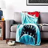 Silver Buffalo JW0127 Jaws Movie Poster Throw