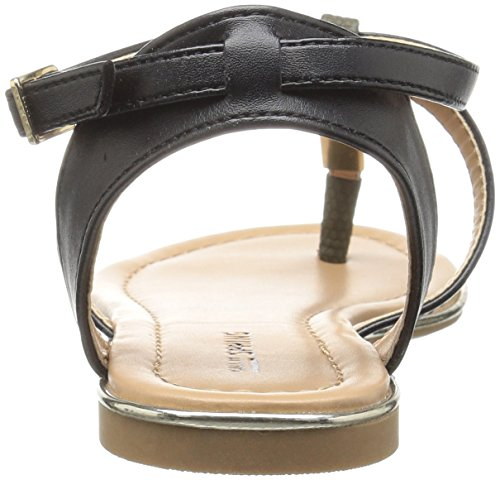 Appelez-le Printemps Boulanger Sandale Plate Kaki Femme