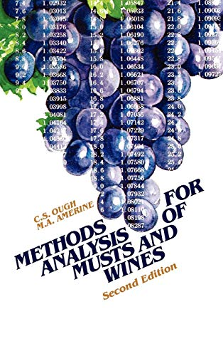 Methods Analysis of Musts and Wines, 2nd Edition
