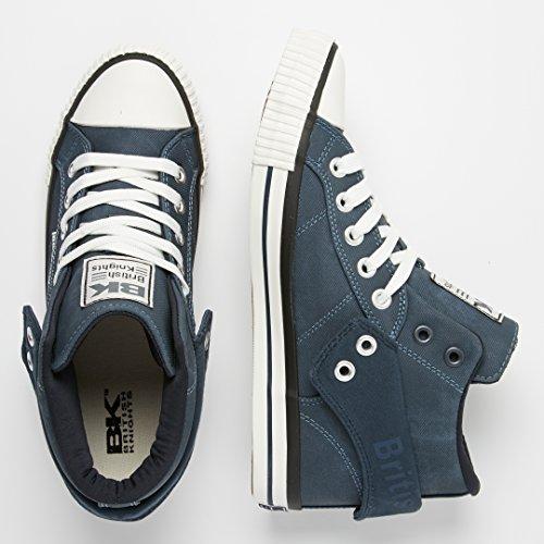 British Roco Blu Navy Alte Sneakers Knights Uomini SrxqBPS8