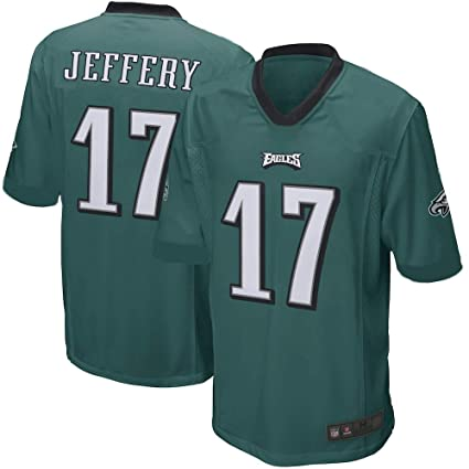 new style 9faf5 29ebc Outerstuff Alshon Jeffery Philadelphia Eagles NFL Toddler 2-4 Green Home  Mid-Tier Jersey