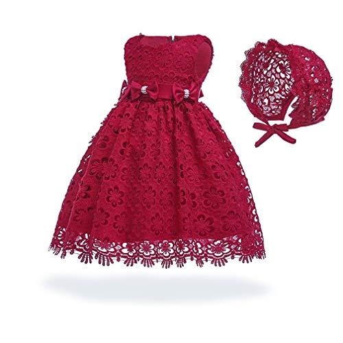 Cinderella Dress Princess Costume Halloween Party Dress up(Red,24M) -