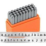 Arts & Crafts : ImpressArt- Basic Newsprint Lowercase Letter Metal Stamp Set
