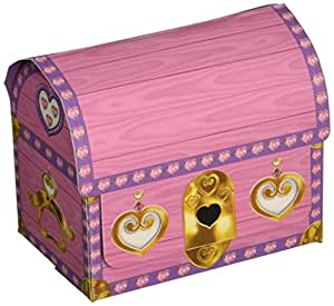 Beistle 50369 4-Pack Princess Treasure Chests, 3-1/2-Inch by 41/4-Inch