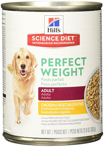 Hill's Science Diet Perfect Weight Dog Food Can, 12.8-Ounce