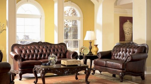 victoria-classic-button-tufted-leather-sofa-set