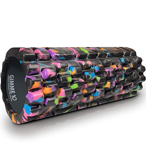 Gimme 10 Foam Roller for Deep Tissue Massager for Muscle and Myofascial Trigger Point Release - ()