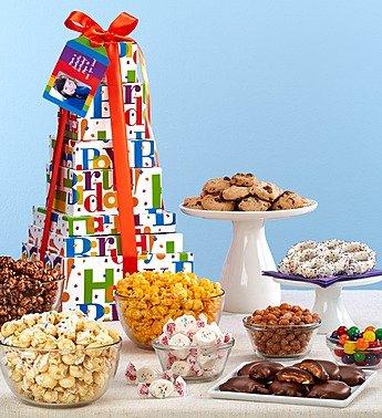 (Big Happy Birthday Towers - 6-Tier Tower)