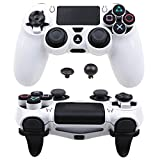 Pandaren FPS Ultra-ARMOR GEAR case cover for PS4 /SLIM /PRO controller (white)