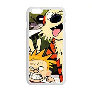Naughty tiger and boy Cell Phone Case for Iphone 6 Plus