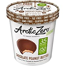 Arctic Zero Chocolate Peanut Butter Creamy Pint, 16 Fluid Ounce (Pack Of 6)