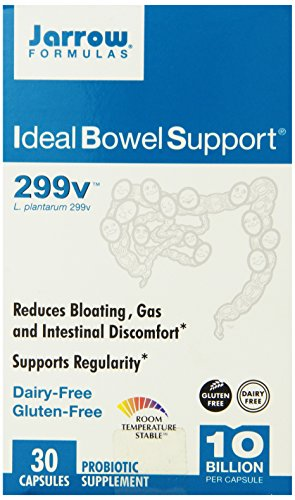 Jarrow Formulas Ideal Bowel Support 299v -- 30 Vegetarian Capsules
