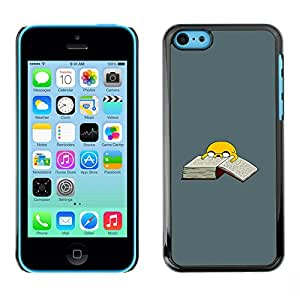 MOBMART Slim Sleek Hard Back Case Cover Armor Shell FOR Apple iPhone 5C - Adventure T1Me Dog