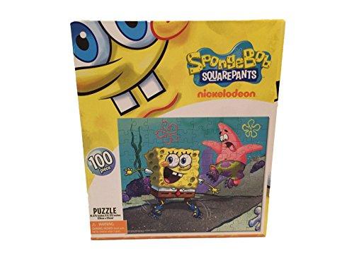 Puzzle Spongebob Patrick Roller Skating