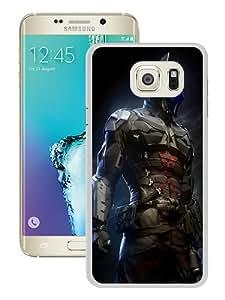 Samsung Galaxy Note 5 Edge Case ,Batman-Arkham-Knight-Game White Samsung Galaxy Note 5 Edge Cover Unqiue And Durable Custom Designed Phone Case