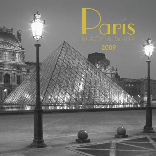 Paris Black & White 2009 7X7 Mini Wall Calendar (Paris 2009 Wall Calendar)