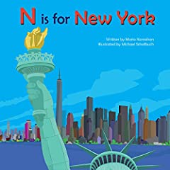 N Is for New York shows off the iconic places and things of New York: the subway, the skyscrapers; the bustling streets; and the people, places, and things that make NYC great. Whether on a coffee table or on the nightstand, this board book i...