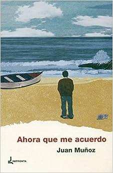 Book AHORA QUE ME ACUERDO
