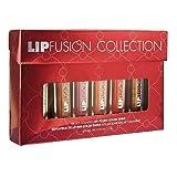 Lipfusion Collection Gift Set Micro Collagen Lip Plump Color Shine Gloss Stick Plumper Beauty Fusion
