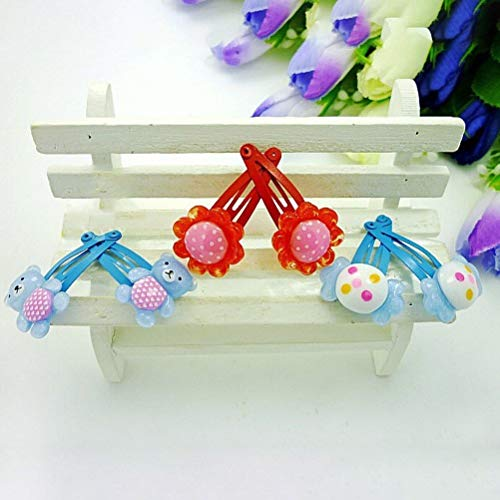 - 40pcs Brightly Colored Hair Clip Lovely Hair Accessories for Children