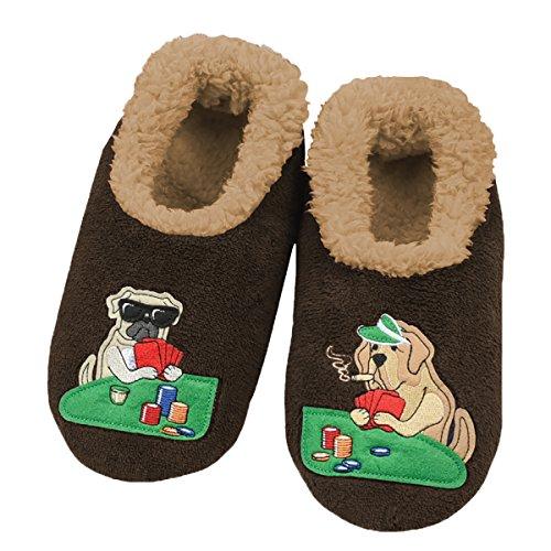 snoozies-mens-mancave-splitz-non-skid-slipper-socks-dogs-playin-cards-medium