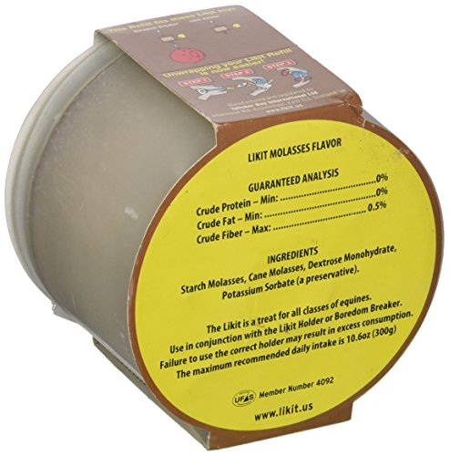 Image of Manna Pro Likit Molasses Refill, 1.5-Pounds