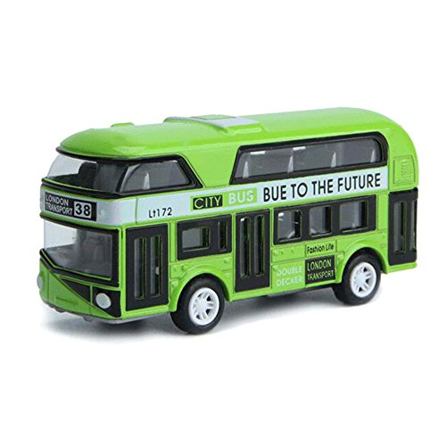 Joymee Toy Bus Car Double-decker London City Modern Children Kids Gift Durable (London Toy)