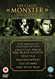The Bride Of Frankenstein / Creature From The Black Lagoon / Dracula / Frankenstein / The Mummy / Th