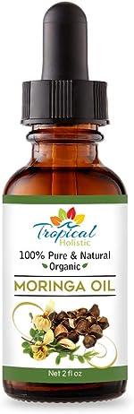 100% Pure Virgin Organic Moringa Oil 2 oz - Cold Pressed