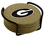 Thirstystone University of Georgia with Holder Included Cork Gift Set