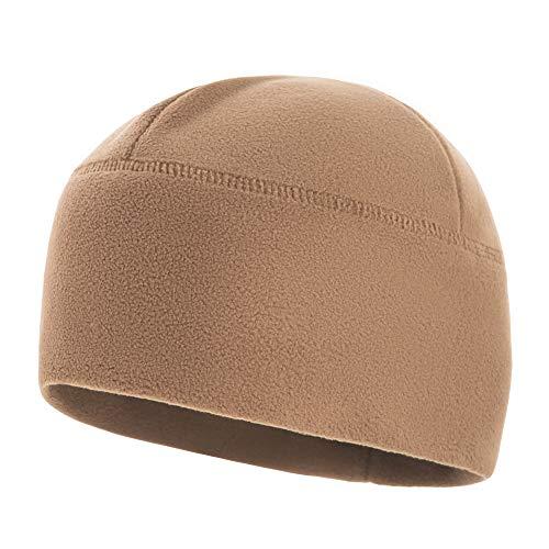 - M-Tac Winter Hat Windproof Fleece 380 Mens Watch Cap Military Skull Cap Beanie (Coyote, Medium)