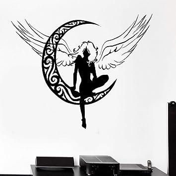 Decoración De La Sala Tatuajes De Pared Hadas Hermosos Niños Mujer ...