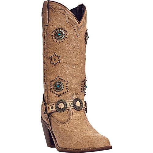 - Dingo Women's Addie Boot,Chestnut,7 B US