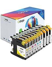 Odoga Compatible LC101 LC103 LC103BK Ink Cartridge Replacement for Brother MFC-J470DW J6920DW J475DW J4510DW J450DW J4710DW J6520DW J870DW - High Yield