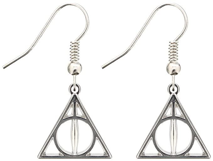 Official Harry Potter Jewellery Deathly Hallows Earrings Ar2sYXQ7i