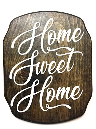 Home Sweet Home Plaque in Dark Walnut ()