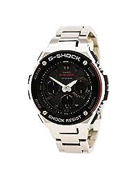 Casio GSTS100D-1A4 Men's G-Shock Ana-Digi Black Dial Steel Bracelet World Time Dive Watch