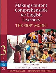 making content comprehensible for english learners the siop model pdf