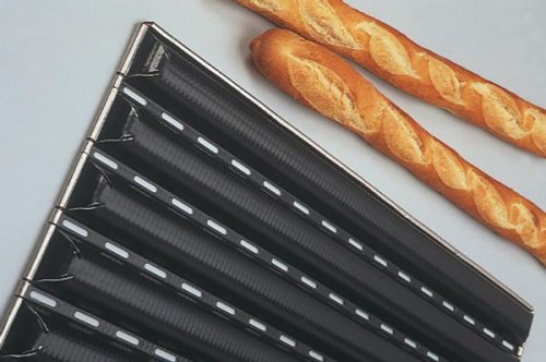 FRENCH BREAD PAN (Bakes 6 Baguettes at a time) [Matfer Bourgeat]