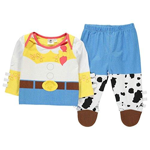 Disney Toy Story Jessie 2 Piece Pyjama Set Infant Baby Blue/Wht Pajama Sleepwear 9-12 Months