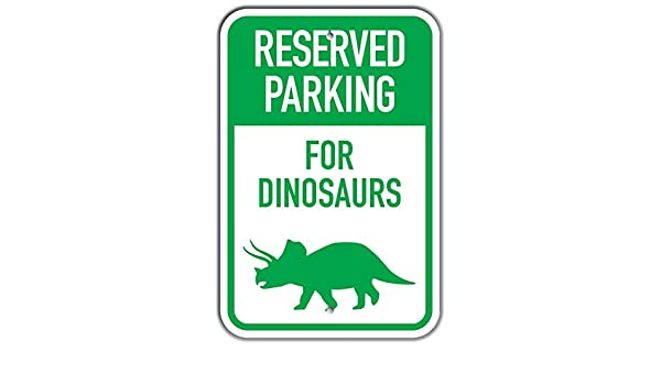 PetKa Signs and Graphics PKRP-0181-NA/_12x18Reserved Parking for Narwhals Aluminum Sign 12 x 18 Cartoon Narwhal